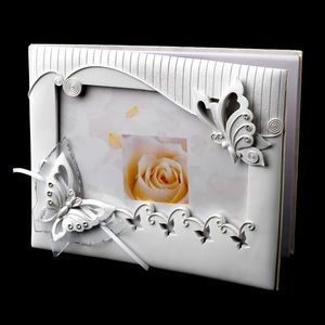 Other - Sparkling Classic Butterfly Photo Guest Book